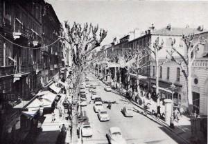 avenue de la Victoire en 1960