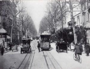 avenue de la Gare vers 1905