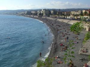 plages de Nice octobre 2009
