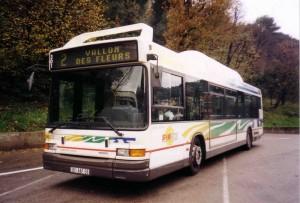 Heuliez GX217 GNV  en 1999