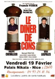 LE DINER DE CONS - Palais Nikaïa à Nice