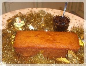Cake aux 5 épices...on en mangerait !