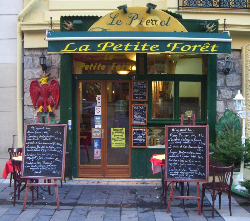 Restaurant la petite for t nice une cuisine for Restaurant cuisine nicoise nice