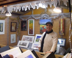 L'artiste-peintre niçois Patrick Hanin