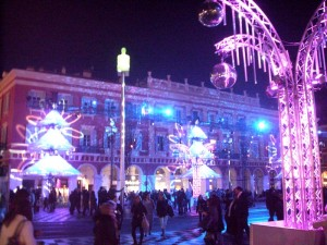 La Place Massna aux couleurs de Nol