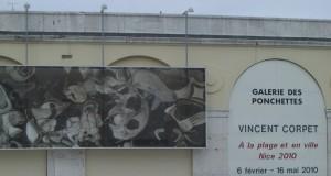 Vincent Corpet à la plage et en ville NICE 2010