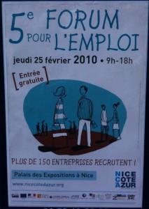Le 5ème Forum de l'emploi de Nice Côte d'Azur