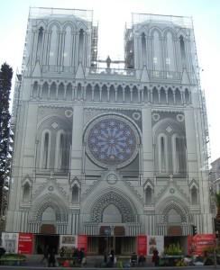Trompe-l'oeil de l'Eglise Notre-Dame