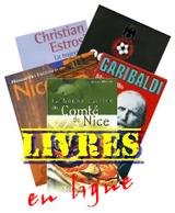 Des livres qui racontent Nice, son histoire, sa cuisine, ses acteurs et plus encore