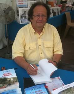 Jean Siccardi au Festival du Livre de Nice