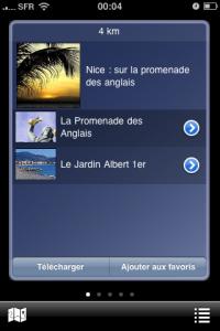 application Iphone zevisit