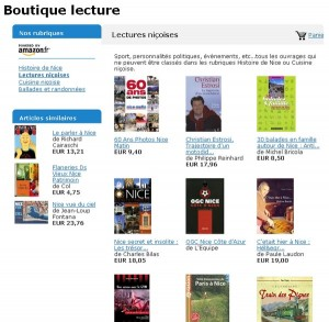 La boutique lecture de blog2nice