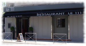 "Restaurant ""Le 111"" 1 rue Gioffredo 06000 NICE"