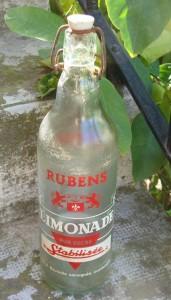 Bouteille de la limonade niçoise Rubens