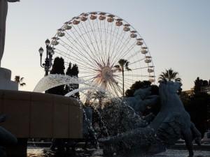 Grande roue à Nice 2011