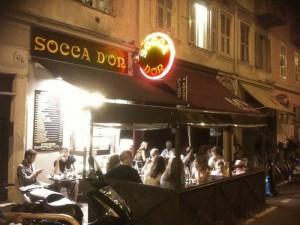 Socca d'Or 45 rue Bonaparte à Nice