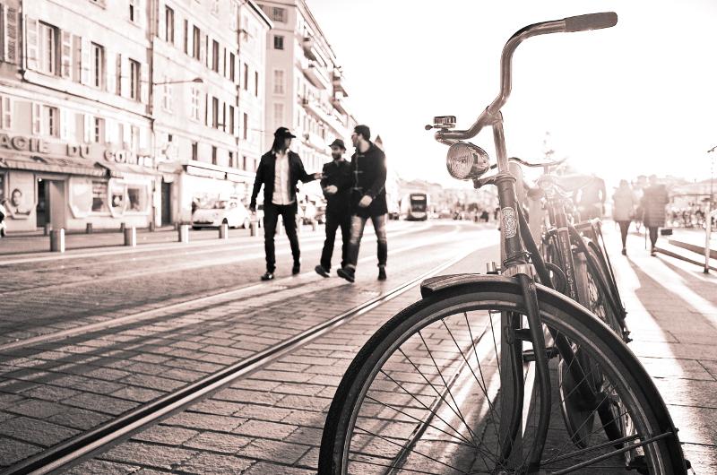 Photographie dans les rues de Nice